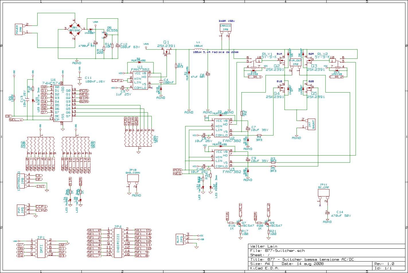 Schemi Elettrici In Pdf : 877 system